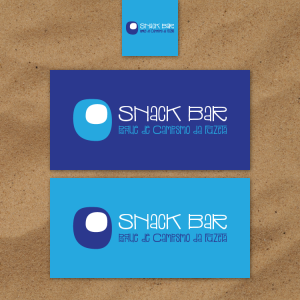 Snack Bar do Parque de Campismo da Fuzeta branding
